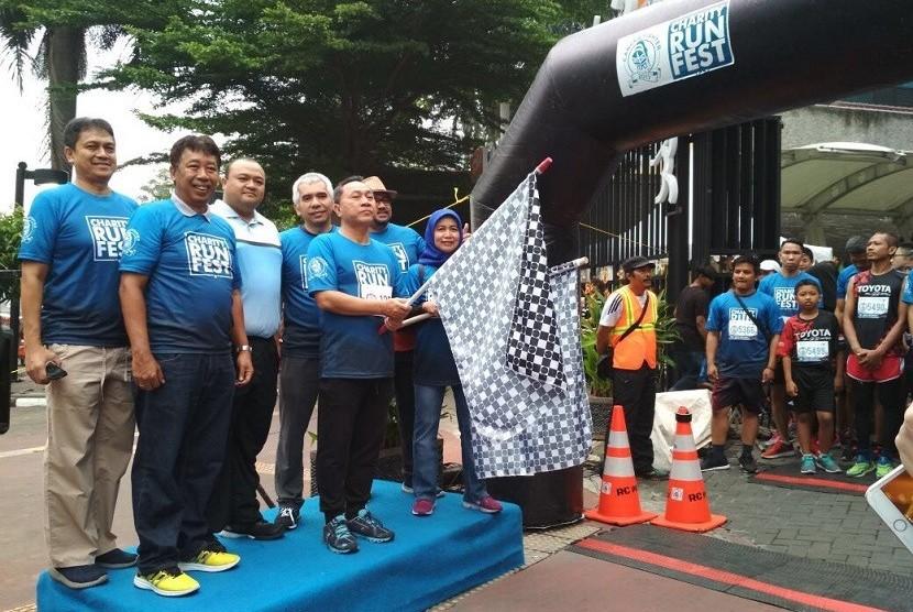 Charity Run Festival 2017 Dhompet Dhuafa Diminati Masyarakat