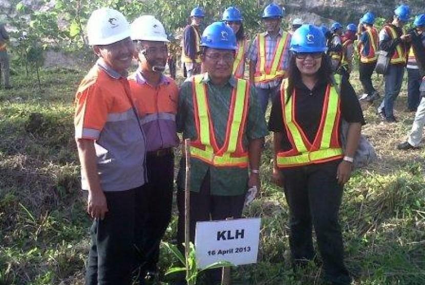 Pelestarian lingkungan Holchim di Nusakambangan