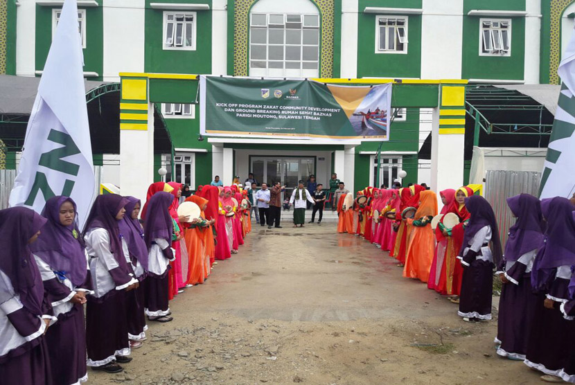 The National Board of Zakat (Baznas) built Rumah Sehat Baznas Parigi Mountong (RSB Parimo) in Siniu Village