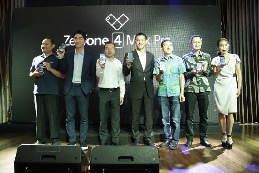 Peluncuran ASUS ZenFone 4 Max Pro di Hard Rock Cafe, Pacific Place, Kamis (7/9).
