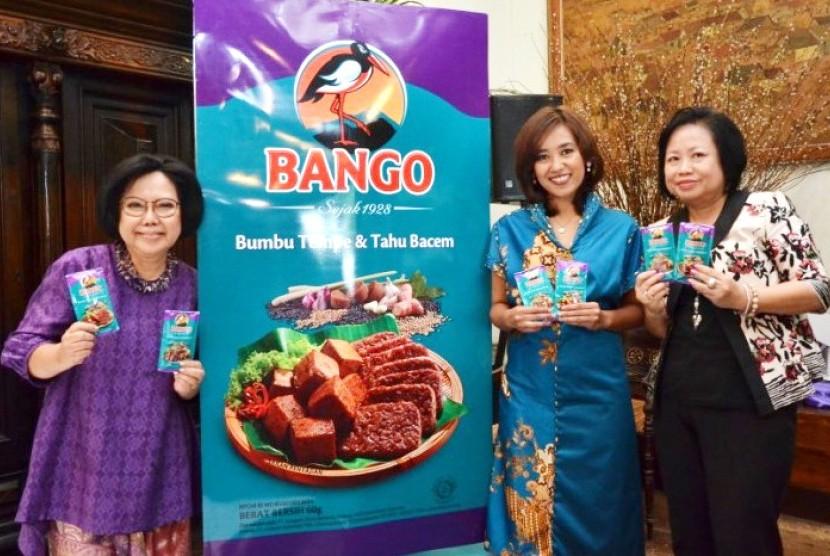 Peluncuran Bango Bumbu Bacem di Jakarta, Kamis (11/12).
