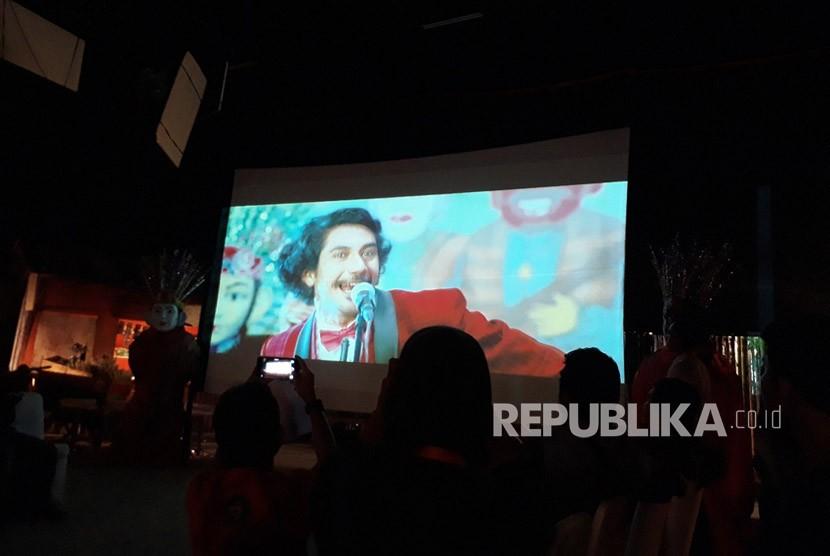 Peluncuran teaser trailer film Benyamin: Biang Kerok di Karnos Studio, Rabu (24/1)