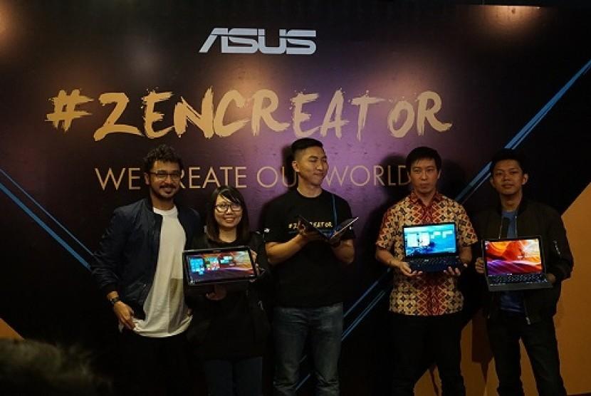 Peluncuran ZenCreator, Komunitas Kreatif Asus Zenbook, Rabu (15/3).