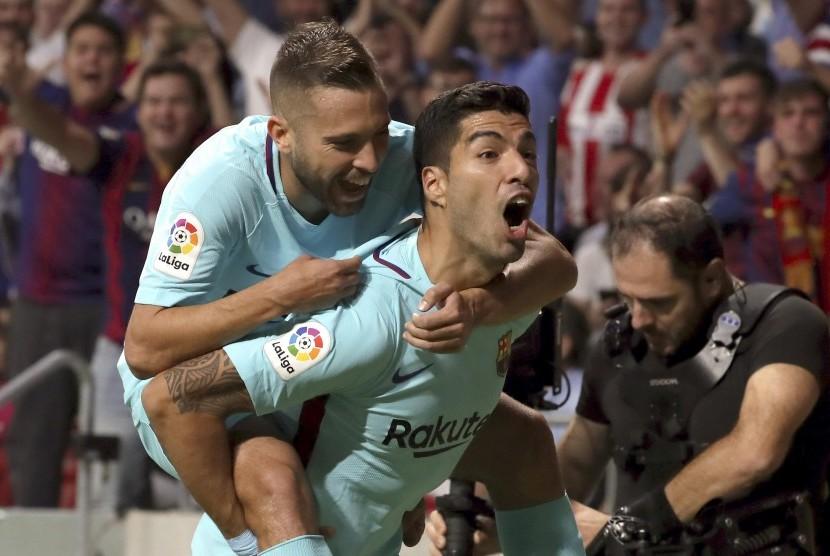 Seri 1-1, Atletico Hentikan Laju Sempurna Barcelona