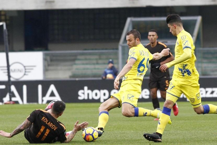 Chievo Tahan Imbang Roma tanpa Gol