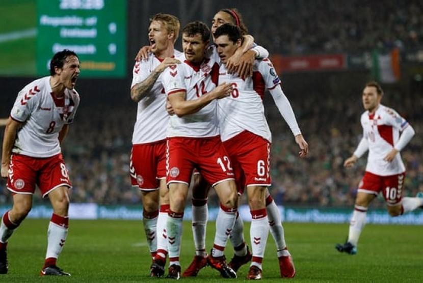 'Hattrick Eriksen Pastikan Denmark Lolos Piala Dunia 2018