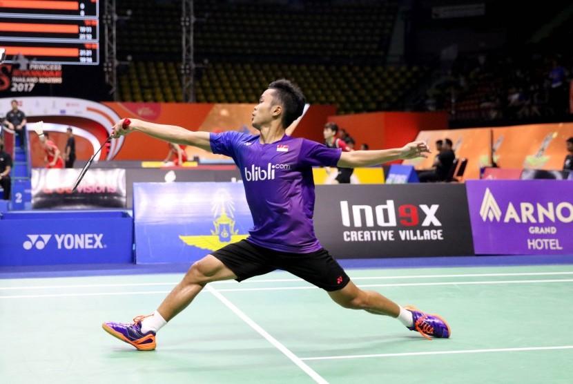 Pemain muda tunggal putra Indonesia, Anthony Sinisuka Ginting