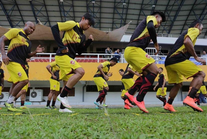 Sriwijaya FC Bawa 18 Pemain ke Stadion Mandala Jayapura