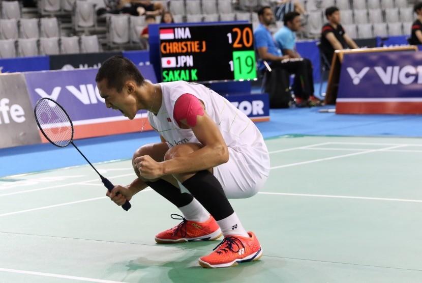 Pemain tunggal putra Indonesia, Jonatan Christie