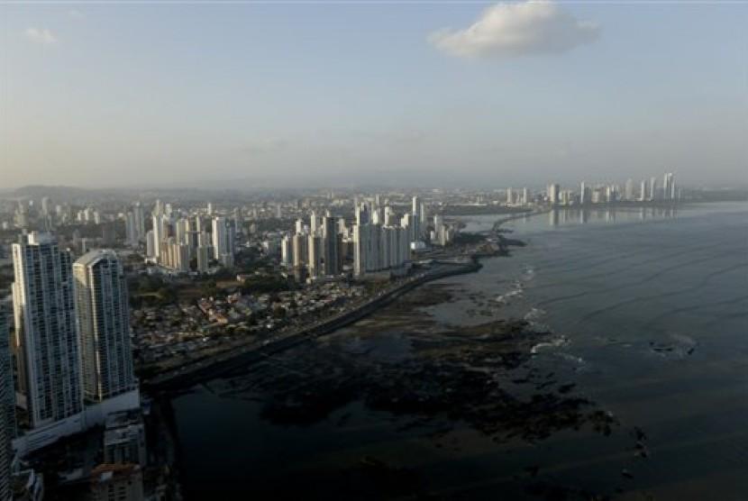 Pemandangan kota Panama.