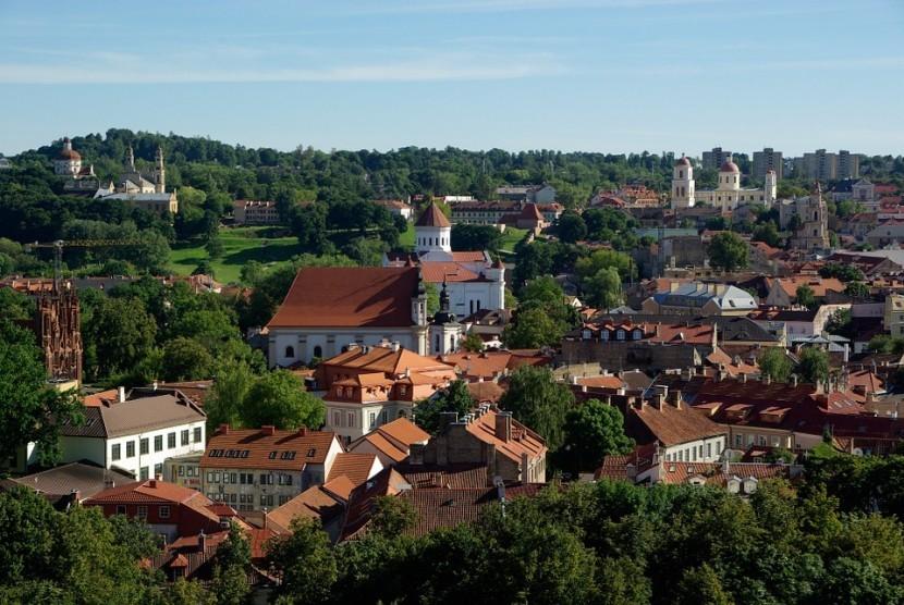 Pemandangan Lituania.