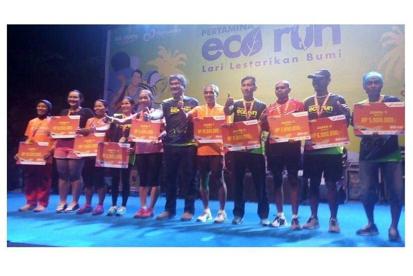 Agus Prayogo Juarai Pertamina Eco Run 2017