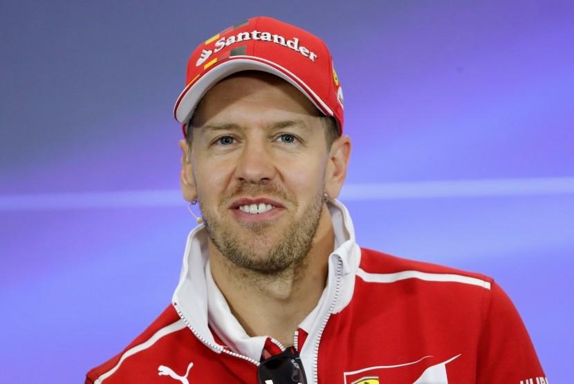 Sebastian Vettel Start Terdepan di GP Meksiko