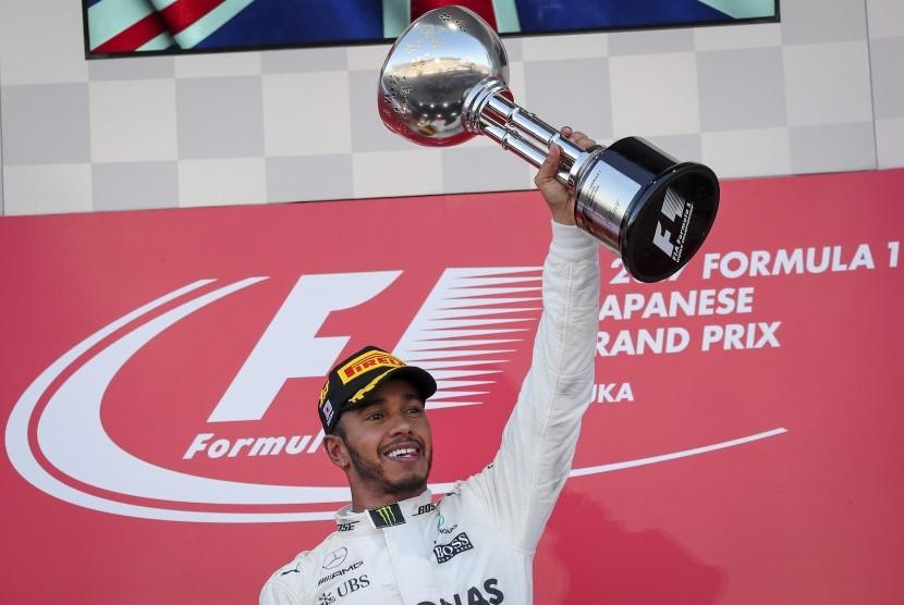 Lewis Hamilton Juarai GP Jepang