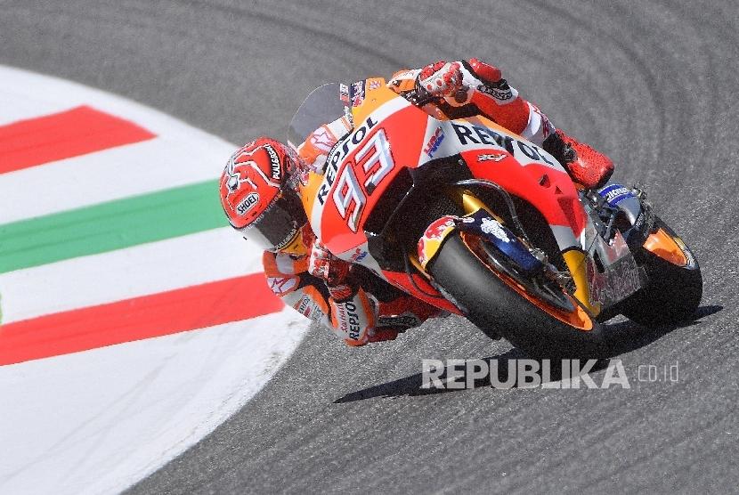 Pembalap Repsol Honda Marc Marquez