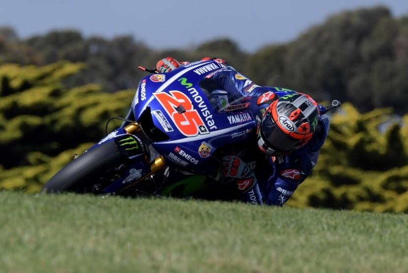 Vinales Terjatuh pada Sesi Latihan Bebas GP Australia