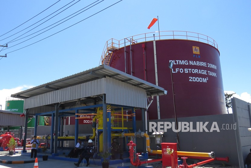 Pembangkit Listrik Tenaga Mesin Gas (PLTMG) Nabire berkapasitas 20 MW diresmikan oleh Presiden Joko Widodo, Rabu (20/12). Kehadiran pembangkit ini bisa meningkatkan layanan kepada para pelanggan, khususnya di Kabupaten Nabire, Papua.