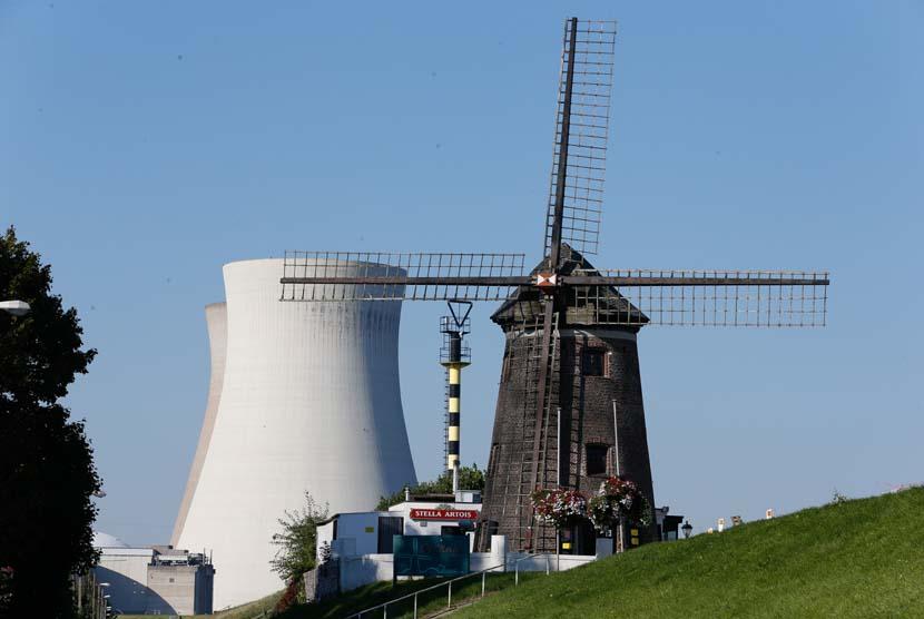 Pembangkit listrik tenaga nuklir/PLTN (ilustrasi)