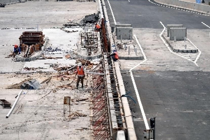 Pembangunan Jalan Tol (Ilustrasi)