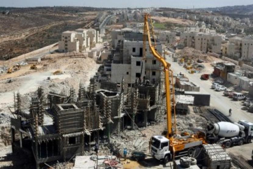 Israel Bangun Gedung Tiga Lantai di Yerusalem Timur Milik Palestina
