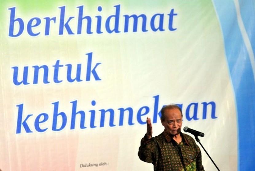 Pembina Yayasan Maarif Institute, Ahmad Syafii Maarif (Ilustrasi)