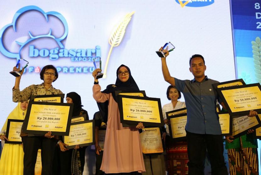 Bogasari SME Award 2017 Memberikan Penghargaan Kepada UMKM