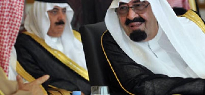 Pemimpin Arab Saudi, Raja Abdullah.