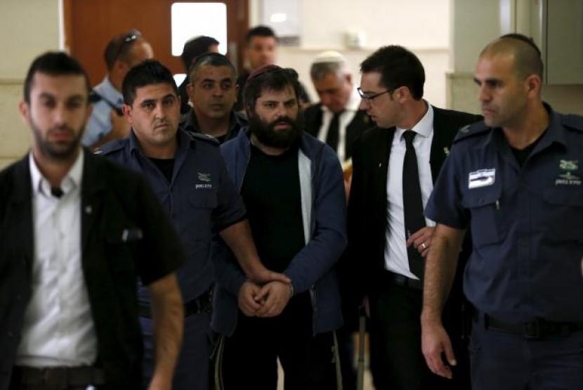 Pemimpin Geng Yahudi Pembunuh Remaja Palestina Dipenjara Seumur Hidup