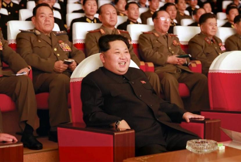 Pemimpin Korea Utara Kim Jong-Un