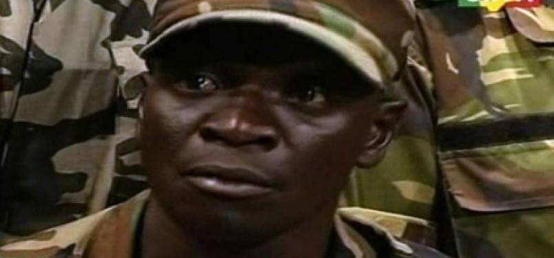 Pemimpin pemberontak Mali, Amadou Sanogo.