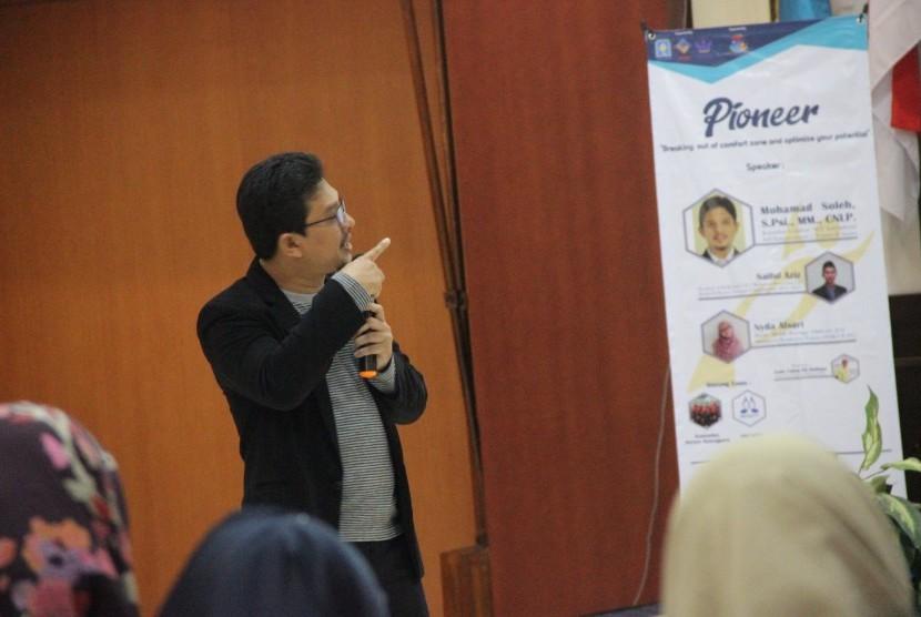 Pemimpin program Empowering Indonesia Mohamad Soleh