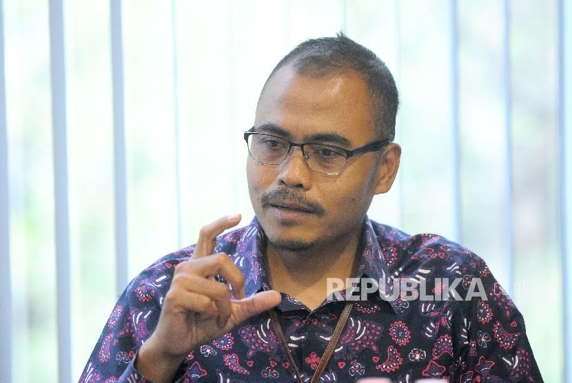 Pemimpin Redaksi Harian Republika Irfan Junaedi