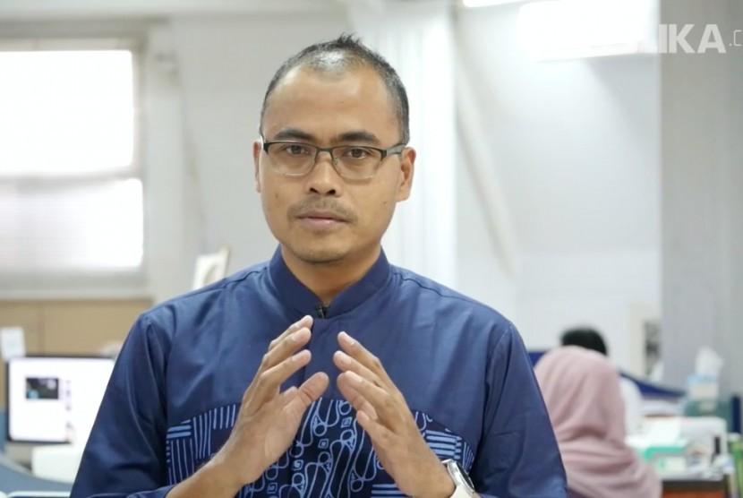 Pemimpin Redaksi Republika, Irfan Junaidi