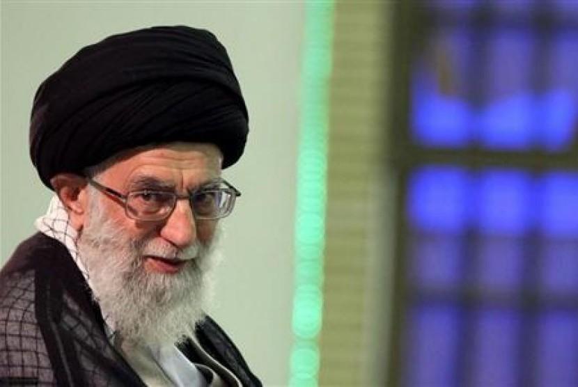 Pemimpin Tertinggi Iran Ayatulloh Ali Khamenei.