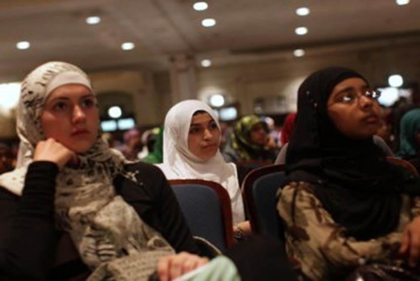 Pemuda muslim (ilustrasi)
