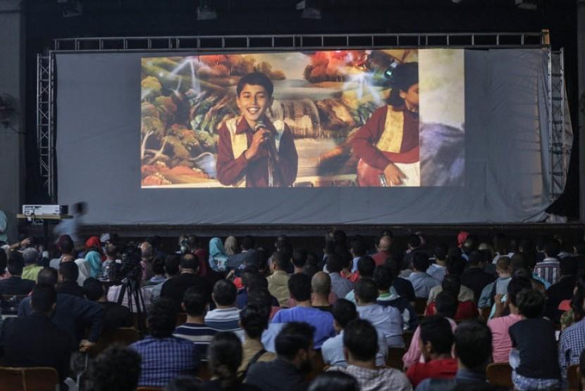 Gaza Film Festival Gelar Karpet Merah di Tengah Reruntuhan