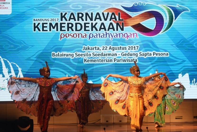 Karnaval Kemerdekaan 2017 di Bandung