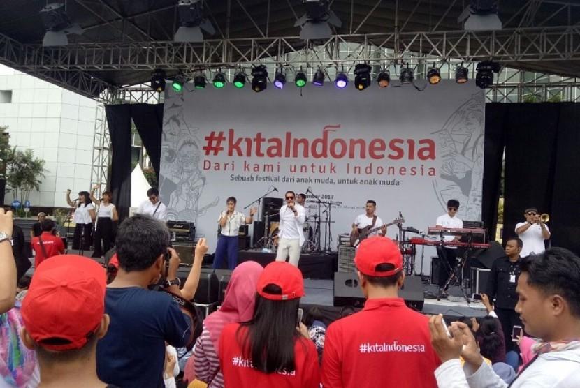 Penampilan Maliq & D'Essentials di ajang #KitaIndonesia