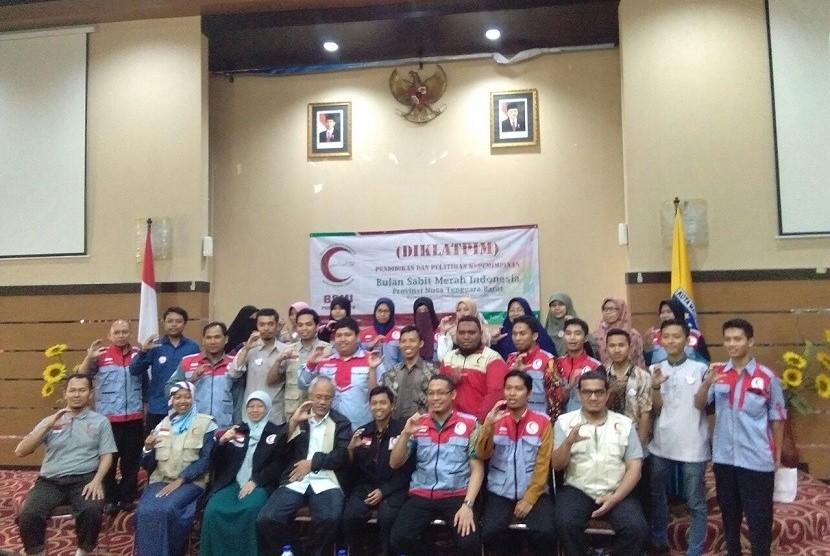 Pendidikan, pelatihan dan kepemimpinan (Diklatpim) Dewan Pimpinan Provinsi BSMI NTB.