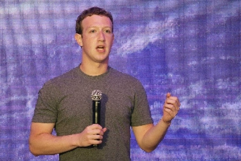 Pendiri Facebook, Mark Zuckerberg.