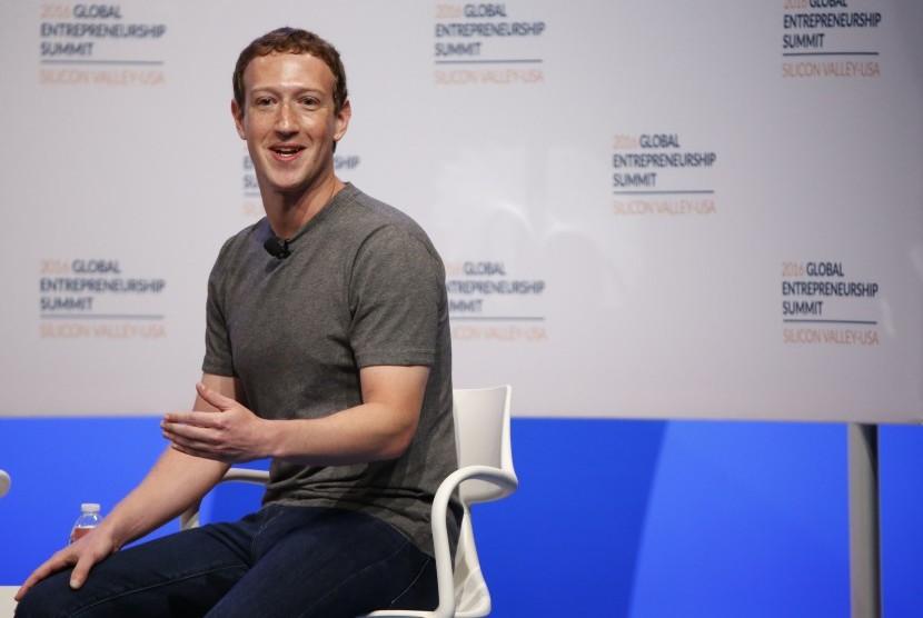 Pendiri Facebook, Mark Zuckerberg