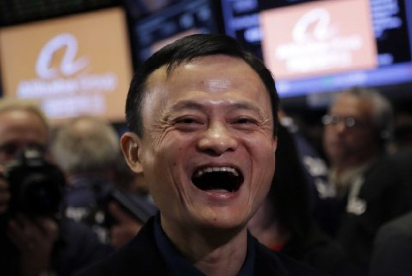 Pendiri perusahaan Alibaba, Jack Ma.