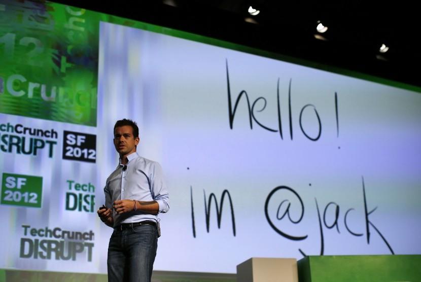 Pendiri Twitter Jack Dorsey.