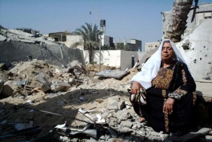 Penduduk Gaza, ilustrasi