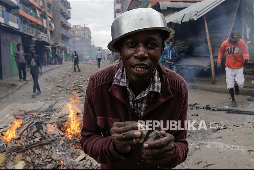 Adik Oposisi Kenya Dituduh Lakukan Hasutan Kekerasan
