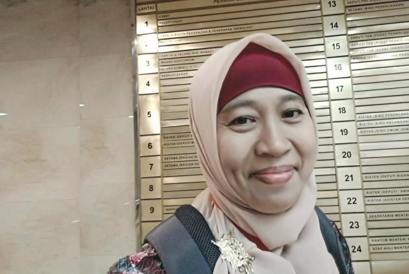 Peneliti Teknik Kimia, Fakultas Teknik Universitas Muhammadiyah Jakarta (UMJ) Tri Yuni Hendrawati.