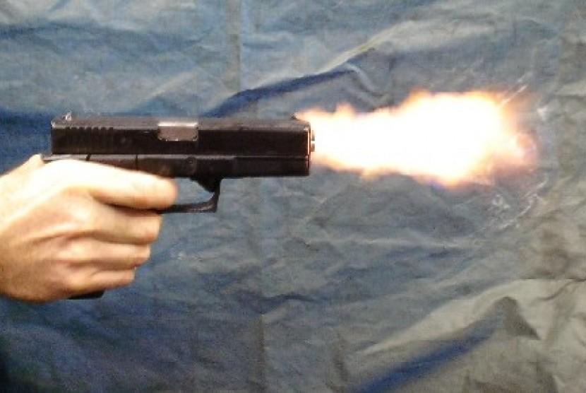 Penembakan (ilustrasi).
