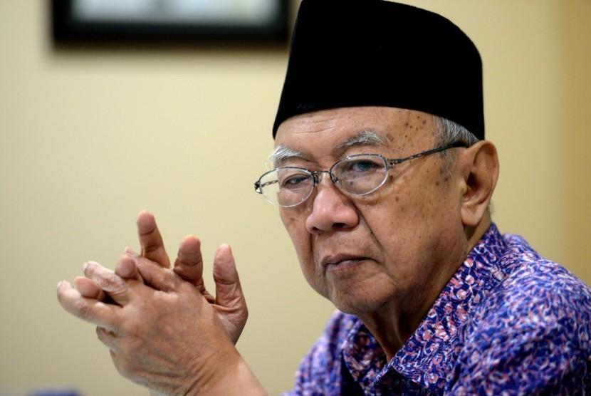Pengasuh Pondok Pesantren Tebu Ireng Solahuddin Wahid atau yang akrab disapa Gus Sholah.