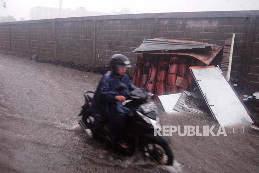 Sungai Meluap, Jalan Wonosari-Yogyakarta Dibuka Satu Arah
