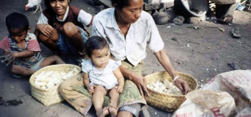 Pengentasan kemiskinan masih jauh panggang dari api (ilustrasi).